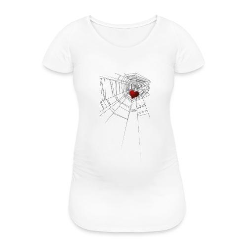 trappola_del_cuore - Maglietta gravidanza da donna