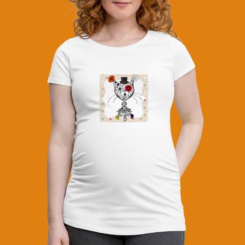 cat color - Women's Pregnancy T-Shirt