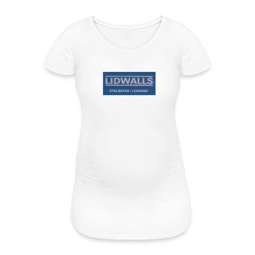 Lidwalls Stålbåtar - Gravid-T-shirt dam
