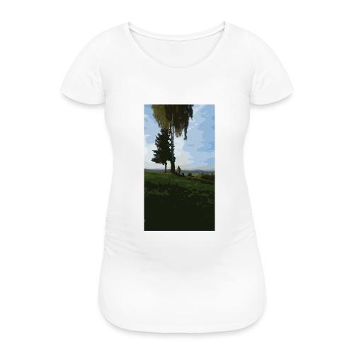 Nature - Frauen Schwangerschafts-T-Shirt