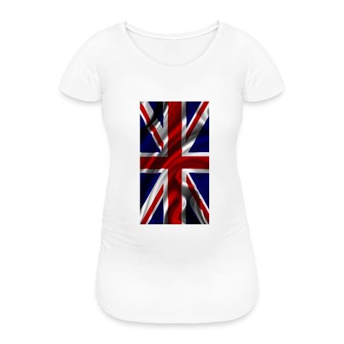English flag - Women's Pregnancy T-Shirt