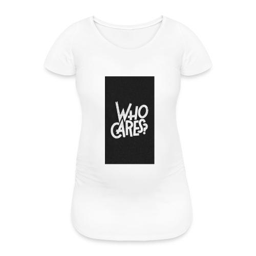 WHO CARES ? - T-shirt de grossesse Femme