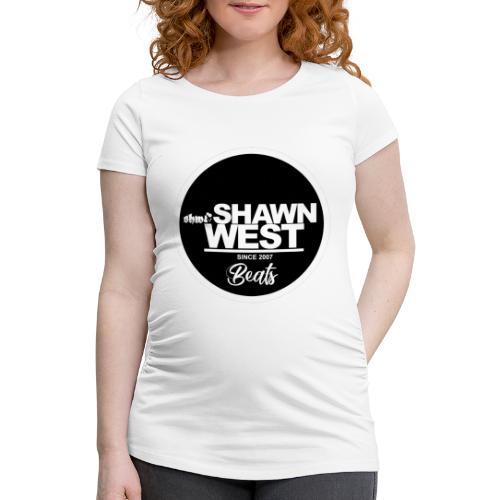 SHAWN WEST BUTTON - Frauen Schwangerschafts-T-Shirt