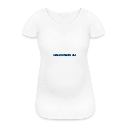 SportGaming Ali - Women's Pregnancy T-Shirt
