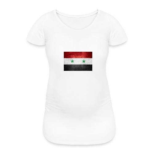 Syrien - Frauen Schwangerschafts-T-Shirt