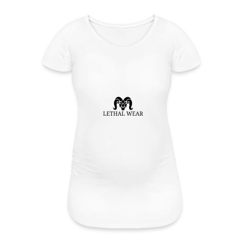 Ram_png - Vrouwen zwangerschap-T-shirt
