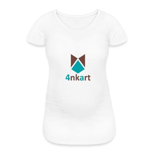 logo 4nkart - T-shirt de grossesse Femme
