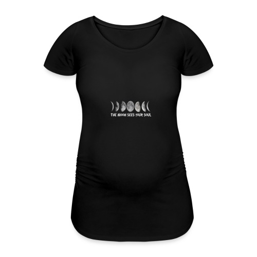 MOON - Women's Pregnancy T-Shirt