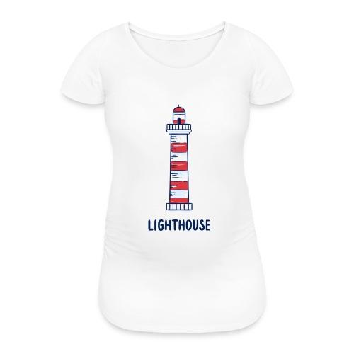 Lighthouse - Frauen Schwangerschafts-T-Shirt