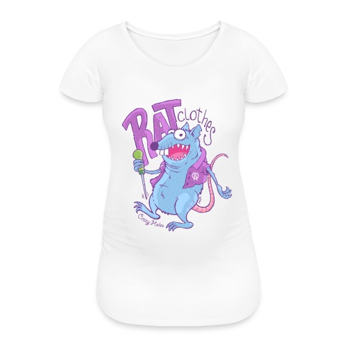 RAT clothes - Frauen Schwangerschafts-T-Shirt
