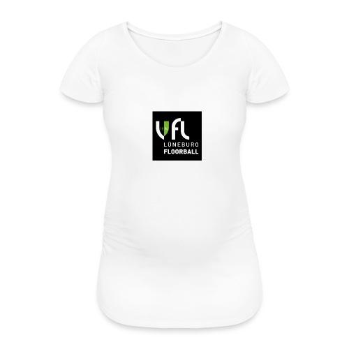 Logo VfL Lüneburg Floorball - Frauen Schwangerschafts-T-Shirt