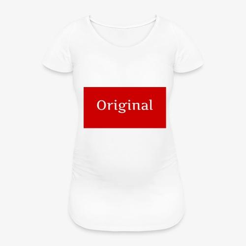 ERDesign - Original T-Shirt - Maglietta gravidanza da donna