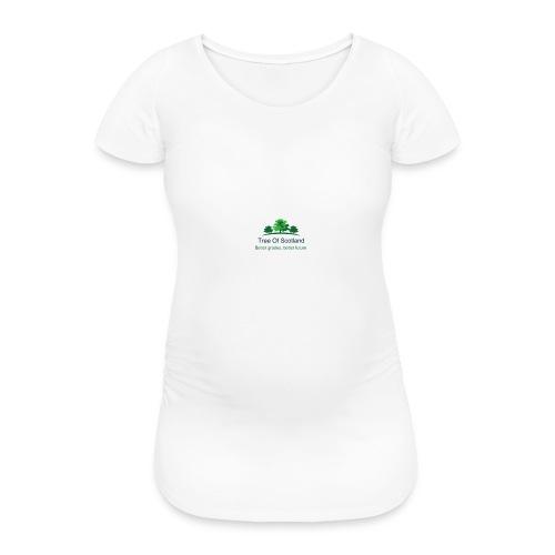 TOS logo shirt - Women's Pregnancy T-Shirt