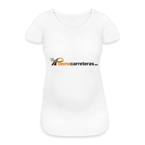 Tecnocarreteras - Camiseta premamá