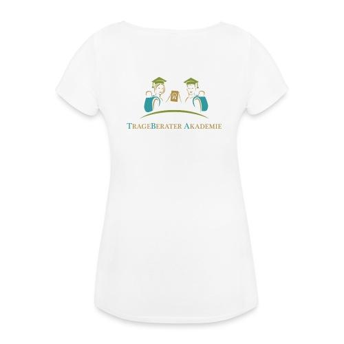 TBA mit Logo - Frauen Schwangerschafts-T-Shirt