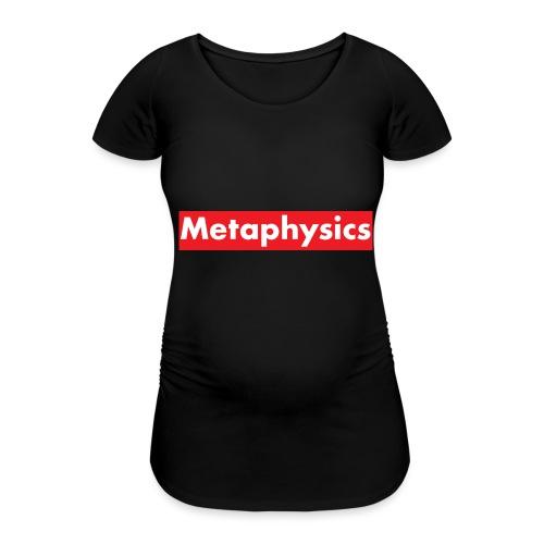 Larry Fitzpatrick X Metaphysics - Frauen Schwangerschafts-T-Shirt