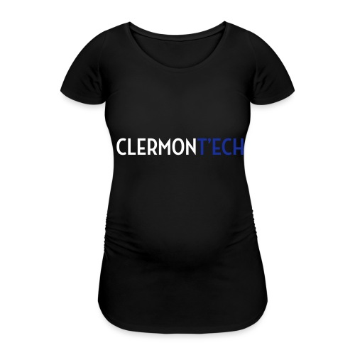 Clermont ech two colors - T-shirt de grossesse Femme