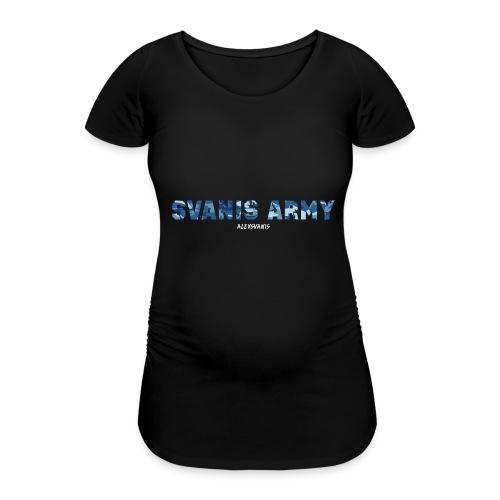 SVANIS ARMY (ALEXSVANIS VIT) - Gravid-T-shirt dam
