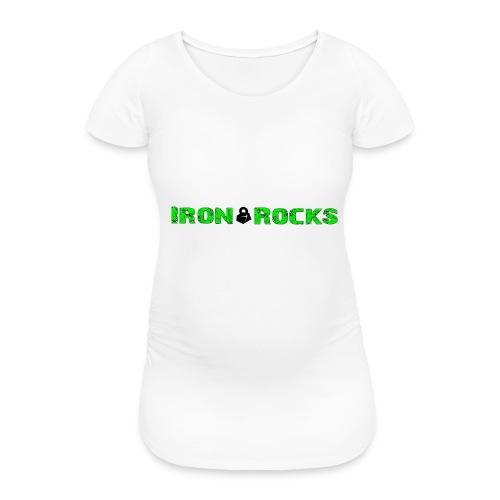 JustRocks - Frauen Schwangerschafts-T-Shirt