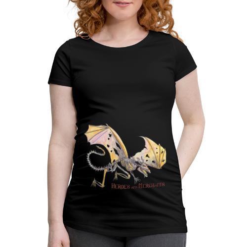 Bonedragon - Frauen Schwangerschafts-T-Shirt