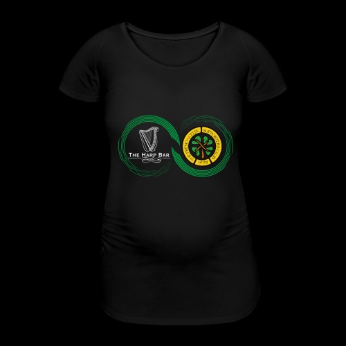 Harp and French CSC logo - T-shirt de grossesse Femme