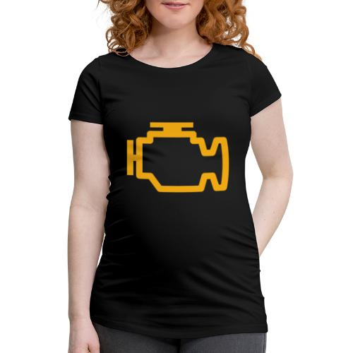 Service Engine Soon - Women's Pregnancy T-Shirt