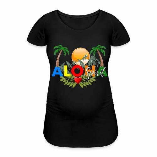 Aloha Spirit Tee - Frauen Schwangerschafts-T-Shirt