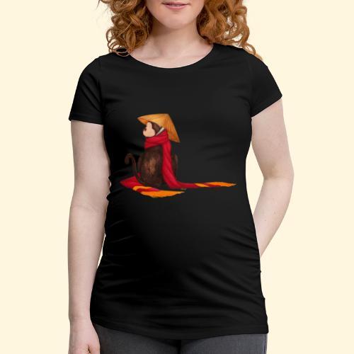 Un singe en hiver - T-shirt de grossesse Femme