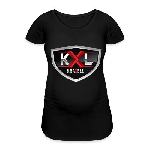 Kraxell - Frauen Schwangerschafts-T-Shirt