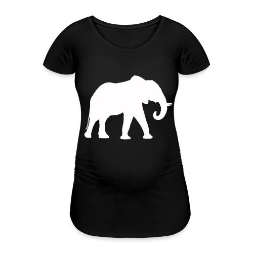 Larry Fitzpatrick X Proboscidea - Frauen Schwangerschafts-T-Shirt