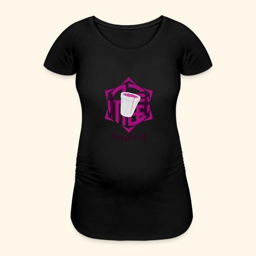 PURPLE FC - Camiseta premamá