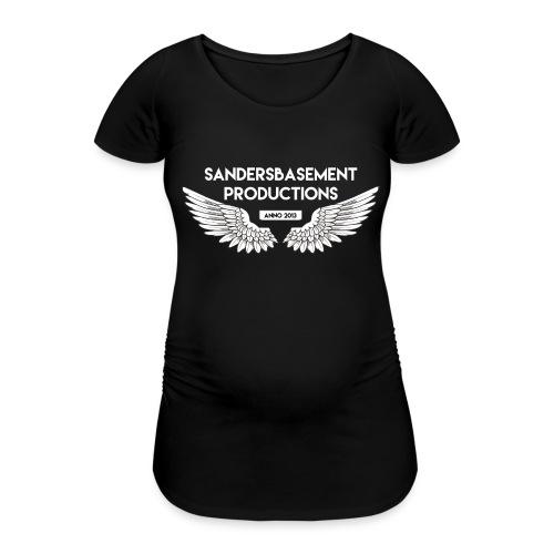 T SHIRT logo wit png png - Vrouwen zwangerschap-T-shirt