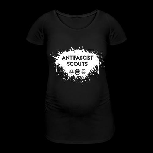 Antifascist Scouts - Women's Pregnancy T-Shirt