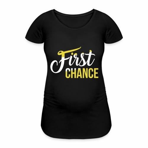 Logo Album First Chance - T-shirt de grossesse Femme