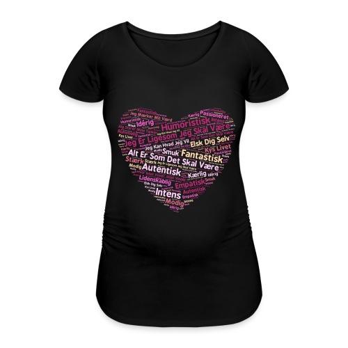 Hjerte - Vente-T-shirt