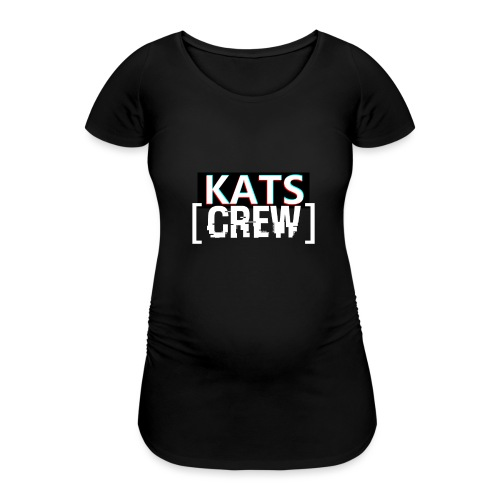 KATS CREW Logo - Koszulka ciążowa