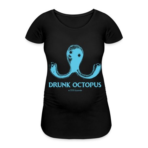 Drunk Octopus - Women's Pregnancy T-Shirt