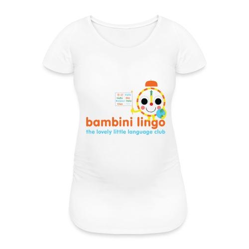 bambini lingo - the lovely little language club - Women's Pregnancy T-Shirt