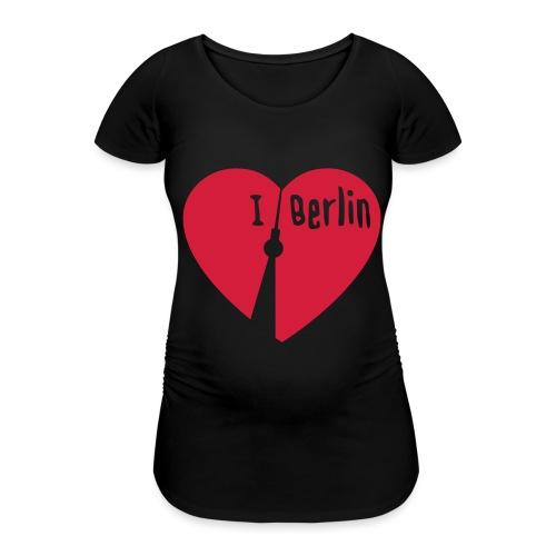 I love Berlin (1-farbig) - Frauen Schwangerschafts-T-Shirt