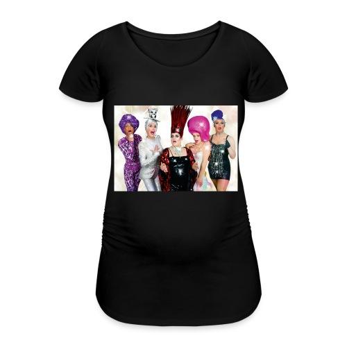 Covergirls - Frauen Schwangerschafts-T-Shirt