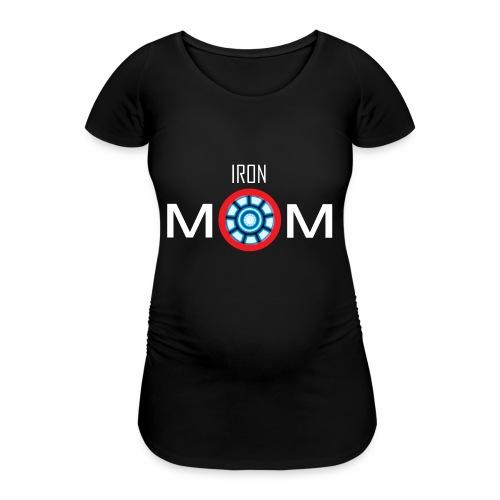Iron mom - Women's Pregnancy T-Shirt