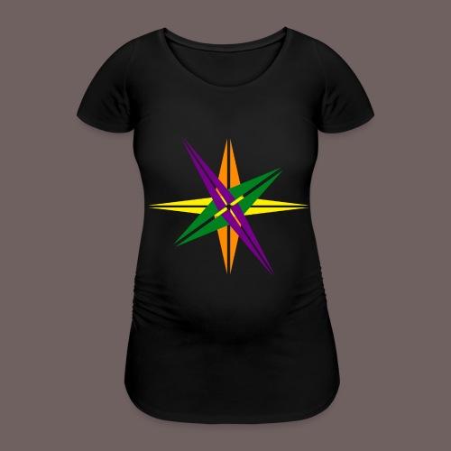 GBIGBO zjebeezjeboo - Love - Couleur d'étoile brillante - T-shirt de grossesse Femme