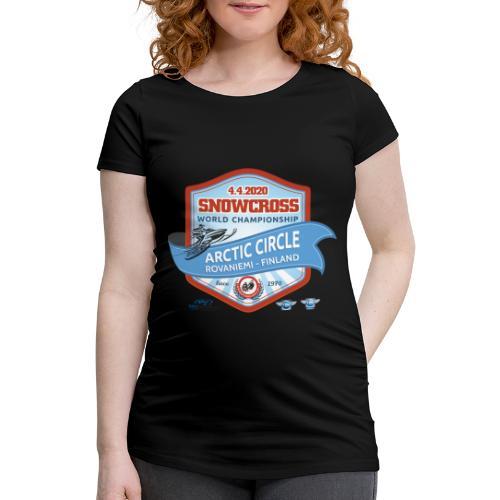 MM Snowcross 2020 virallinen fanituote - Naisten äitiys-t-paita