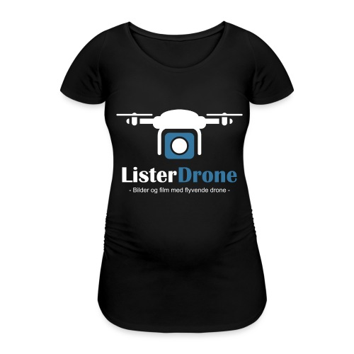 ListerDrone logo - T-skjorte for gravide kvinner