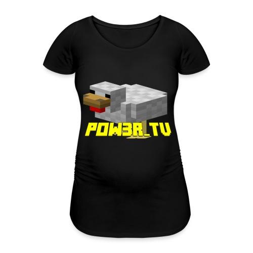 POW3r-peluche - Maglietta gravidanza da donna