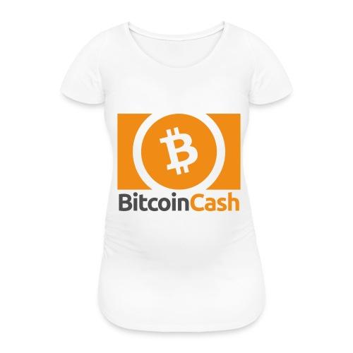 Bitcoin Cash - Naisten äitiys-t-paita