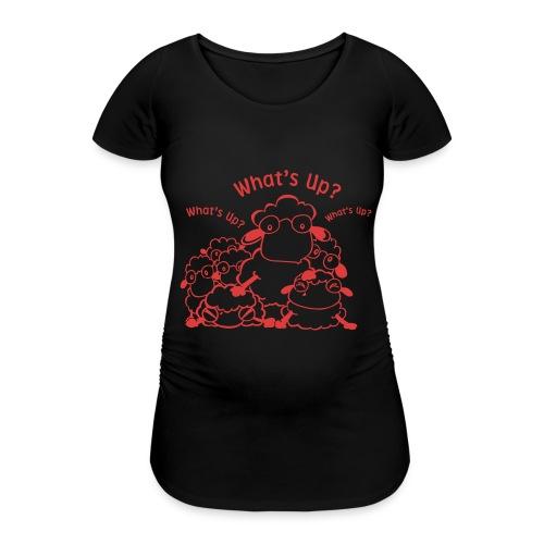 yendasheeps - Vrouwen zwangerschap-T-shirt