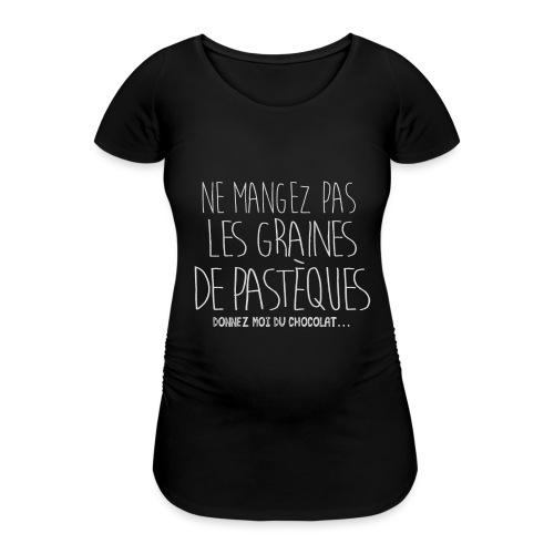 Tshirt-Femme-Enceinte-B - T-shirt de grossesse Femme