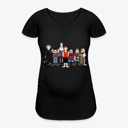 Askeladden og de gode hjelperne - T-skjorte for gravide kvinner