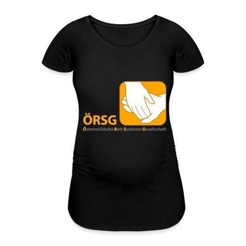 Logo der ÖRSG - Rett Syndrom Österreich - Frauen Schwangerschafts-T-Shirt